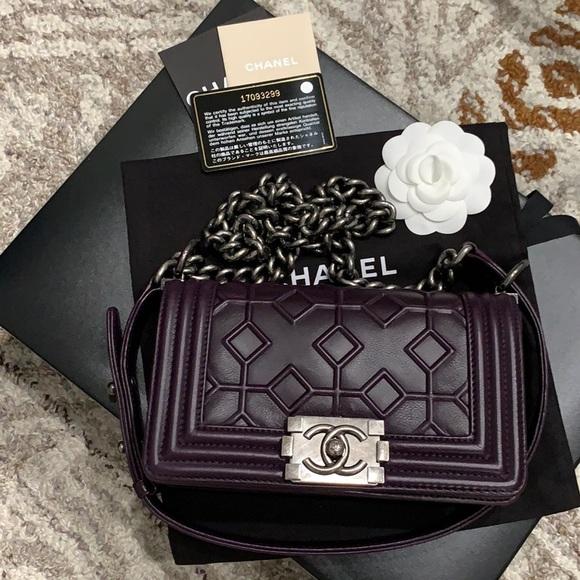 CHANEL Handbags - RARE! CHANEL Small Le Boy Bag